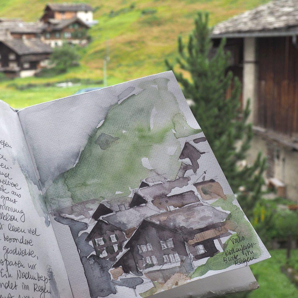 Reisebuch Schweiz ©muellerinart
