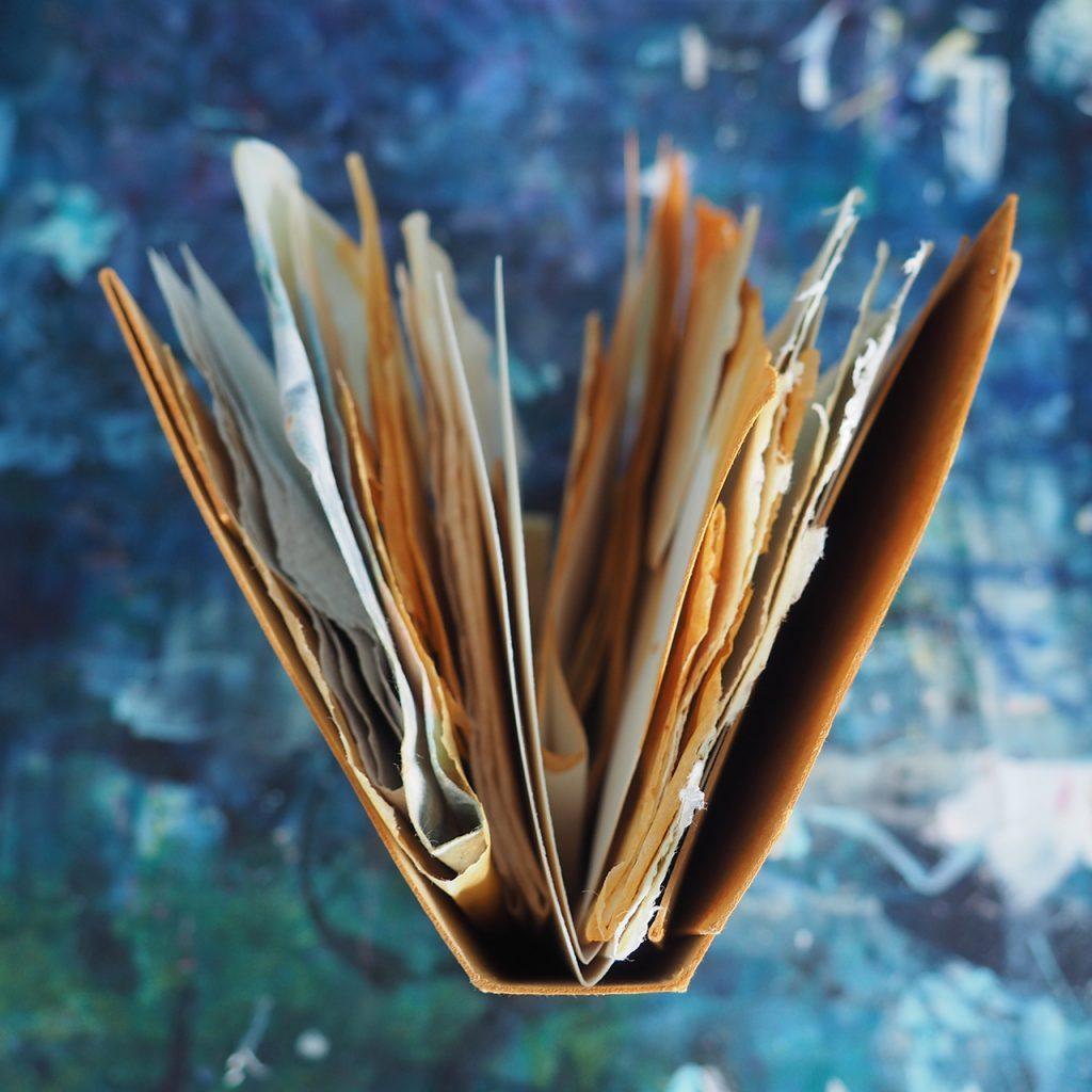 Papier rosten ©muellerinartstudio