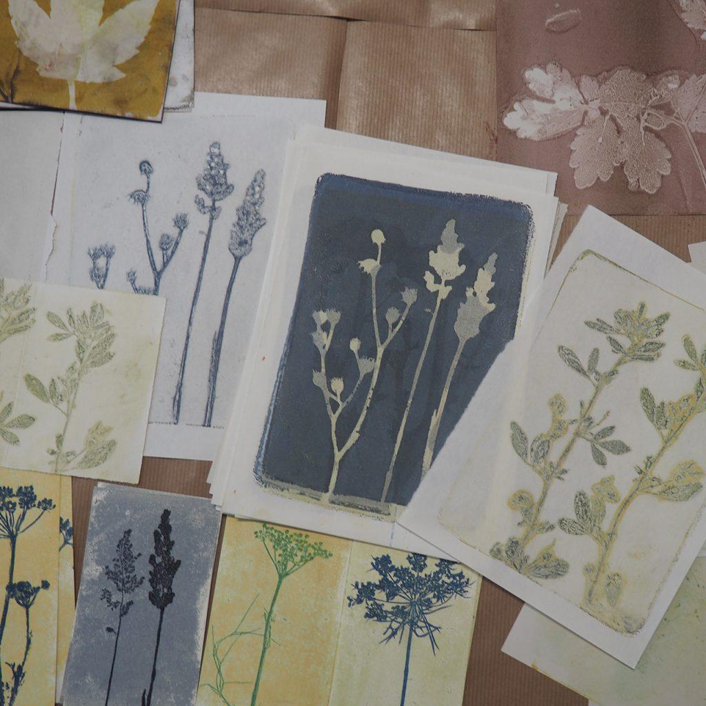 Herbstdruckerei Workshop ©muellerinartstudio